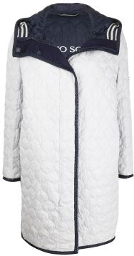 Quilted Mid-length Coat - Ermanno Scervino