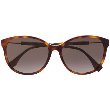 Cat Eye Tortoiseshell Sunglasses - Fendi Eyewear