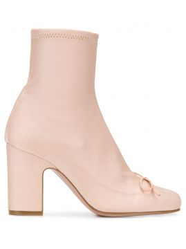 Red(v) 85mm Ankle Boots - Red Valentino