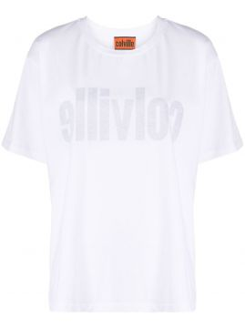 Logo Print Inside-out Effect T-shirt - Colville