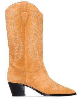 Bota Cowboy Com Bordado - Paris Texas