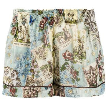 Floral Print Short - F.r.s For Restless Sleepers