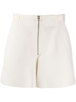 High-waisted Zip Front Short - Hilfiger Collection