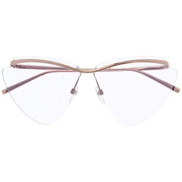 Oversized Frame Tinted Sunglasses - Marc Jacobs Eyewear