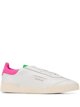 Colour Block Low-top Sneakers - Ghoud