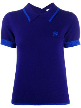 Knitted Crest Logo Polo Shirt - Hilfiger Collection