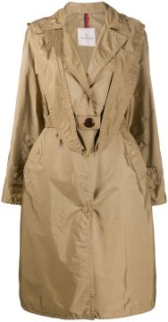 Hooded Trench Coat - Moncler