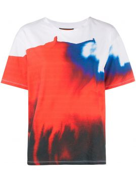 Watercolour Graphic Print T-shirt - Colville