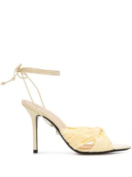 Ankle Tie Heeled Sandals - Alevì