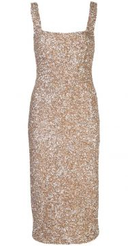 Fitted Sequin Dress - Alice+olivia
