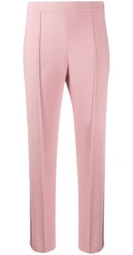 Pinched Cropped Trousers - Hebe Studio