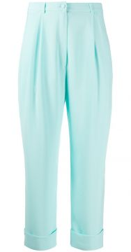 Plain Tapered Trousers - Hebe Studio