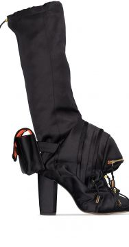 Duffle Toggle Fastened Boots - Christian Stone