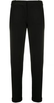 Slim-fit Cropped Trousers - Circolo 1901