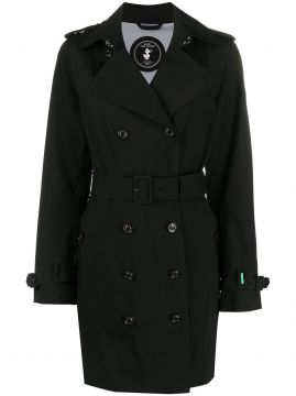 Trench Coat Com Cinto - Save The Duck