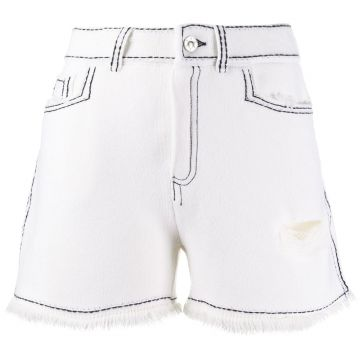 Contrast Stitch Short - Barrie
