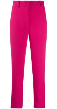 High-waisted Tailored Trousers - Hebe Studio