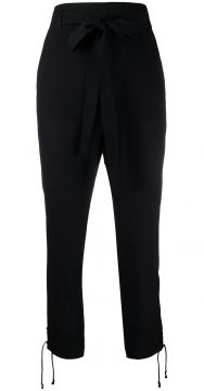 Waist-tied Tailored Trousers - Ann Demeulemeester
