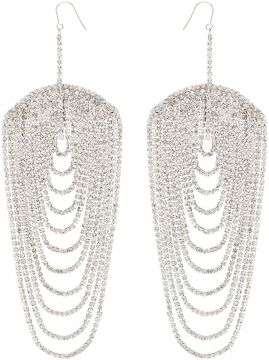 Embellished Drop Earrings - Area