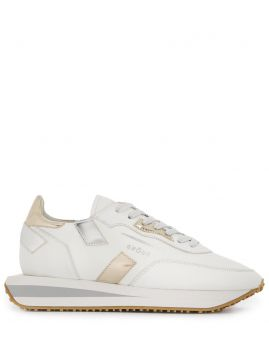 Metallic Panel Low Top Sneakers - Ghoud