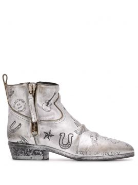 Texas Journey Ankle Boots - Golden Goose