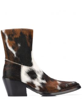 Ankle Boot Com Padronagem - Acne Studios