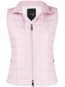 Zip Up Padded Gilet - Fay