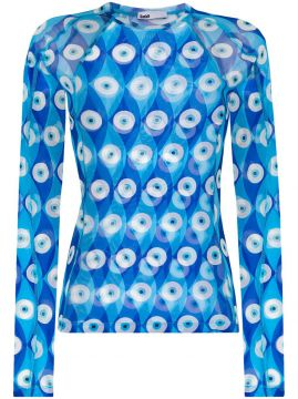 Eye Print Rashguard Top - Gmbh