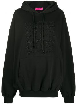Goodforyou Embroidered Cotton Hoodie - Irene Is Good