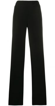 High-waisted Wide Leg Trousers - Emporio Armani