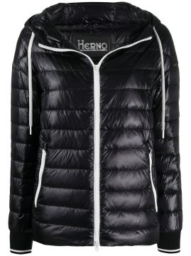 Padded Hooded Jacket - Herno