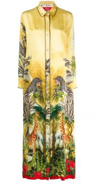 Chemise Com Estampa Tropical - F.r.s For Restless Sleepers