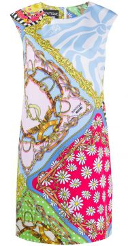 Fantasy-print Shift Dress - Boutique Moschino