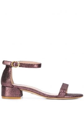 Nudist June Block-heel Sandals - Stuart Weitzman