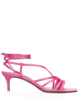 Strappy Kitten Heel Sandals - The Attico