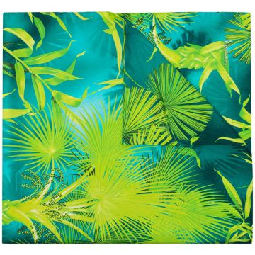 Tropical-print Silk Scarf - Versace