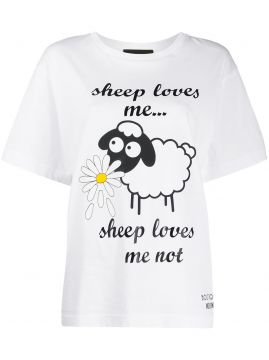 Sheep Loves Me...t-shirt - Boutique Moschino