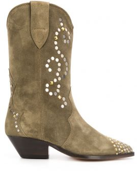 Duerto Texan Ankle Boots - Isabel Marant