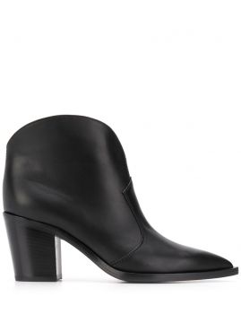 Nevada 75mm Ankle Boots - Gianvito Rossi