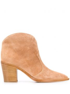 Nevada 70mm Ankle Boots - Gianvito Rossi