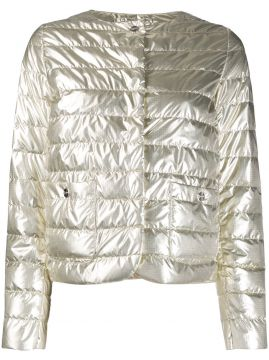 Shiny Effect Puffer Jacket - Herno