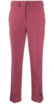 Cropped Trousers - Incotex