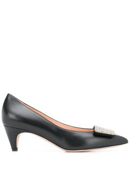 Studded Pointed Toe Pumps - Bally