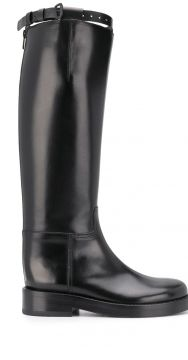 Knee-length Riding Style Boots - Ann Demeulemeester