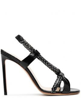 Strappy 110mm Sandals - Francesco Russo