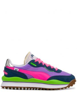 Colour-block Panelled Sneakers - Puma