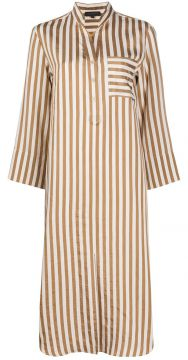 Striped Shirt Dress - Antonelli