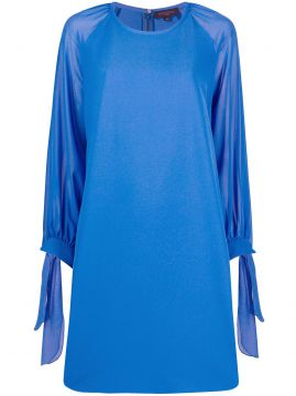 Long-sleeve Shift Dress - Antonelli