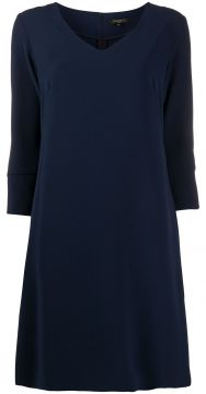 V-neck Shift Dress - Antonelli