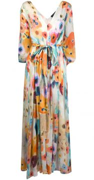 Floral Printed Maxi Dress - Antonelli